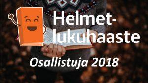 Helmet -lukuhaaste 2018