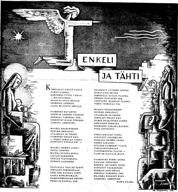 Elina Vaara: Enkeli ja Tähti - HS 24.12.1932