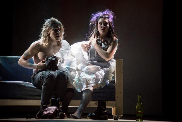 Julia & Romeo. Kuva: Kansallisteatteri, Tuomo Manninen