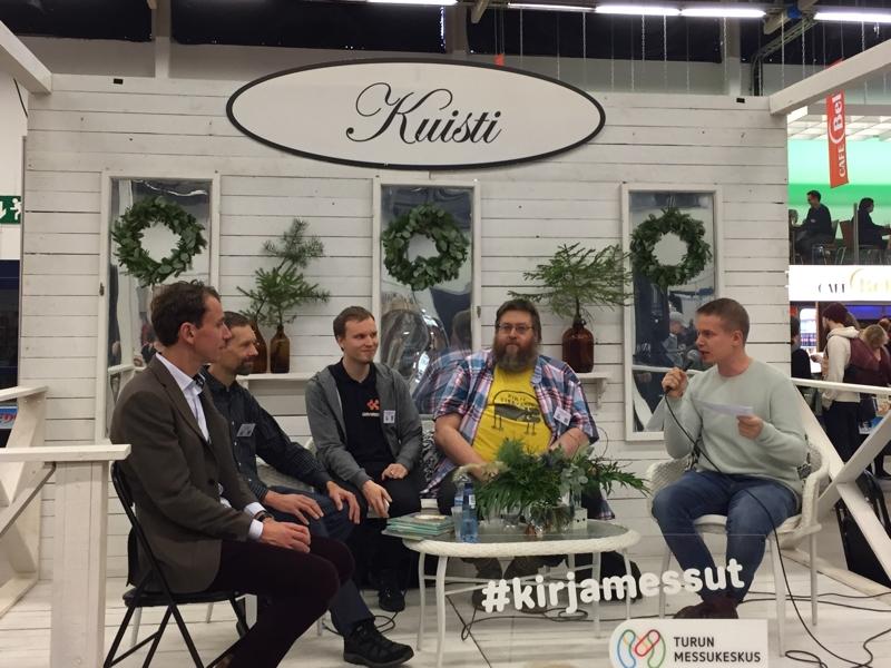 Turun Kirjamessut: Lukevien miesten paneeli