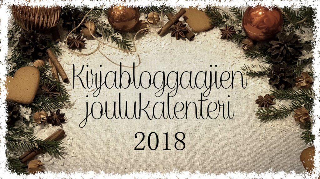 Kirjabloggaajien joulukalenteri 2018